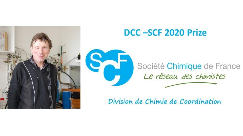 Jean-René Hamon laureate of the DCC-SCF 2020 Senior Prize