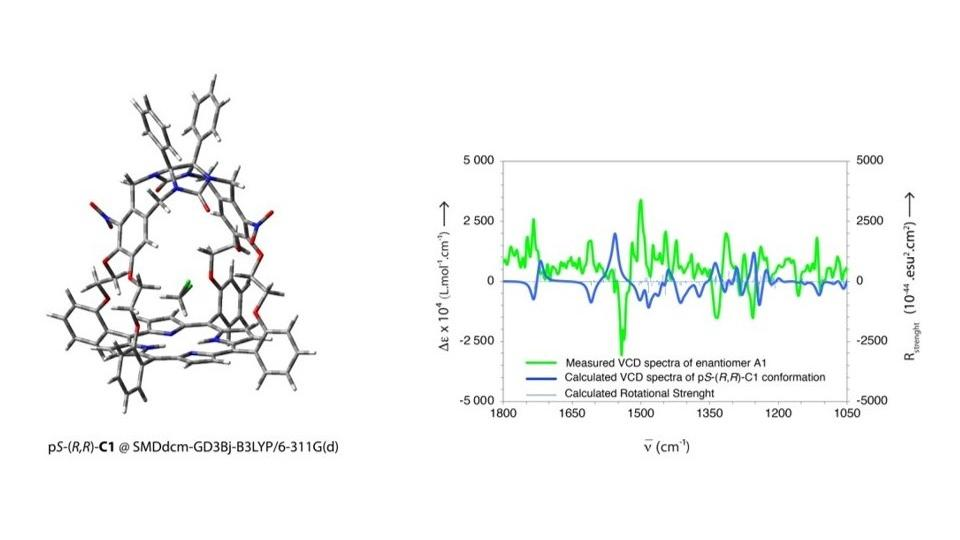 Chiral porphyrinic cages studied by chiroptical spectroscopies !