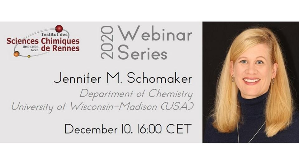 Taming nitrene reactivity with silver catalysts - ISCR 2020 Webinar Series: Jennifer M. Schomaker
