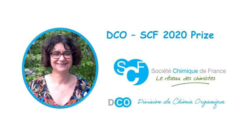 Jeanne Crassous laureate of the DCO-SCF Prize 2020