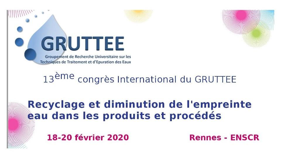 13th GRUTTEE International Congress