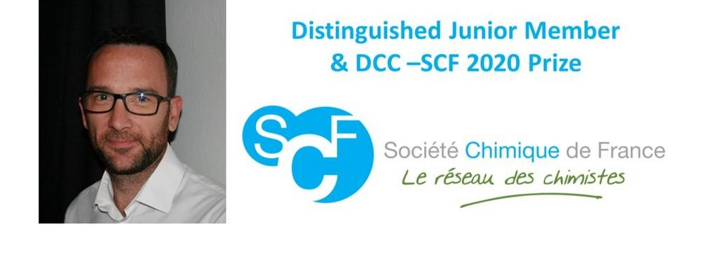 Kevin Bernot Distinguished Junior Member of the French Chemical Society and laureate of the DCC-SCF 2020 Junior Prize