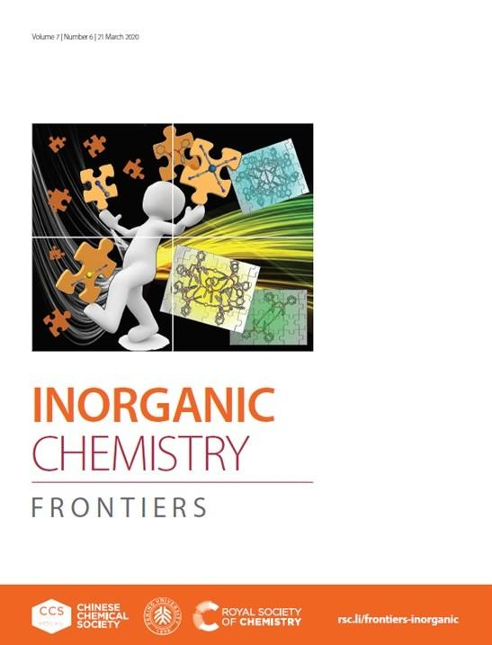 2020_Inorg Chem Front_C Lescop cover